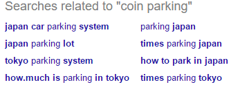 """searches related to """"coin parking"""""""